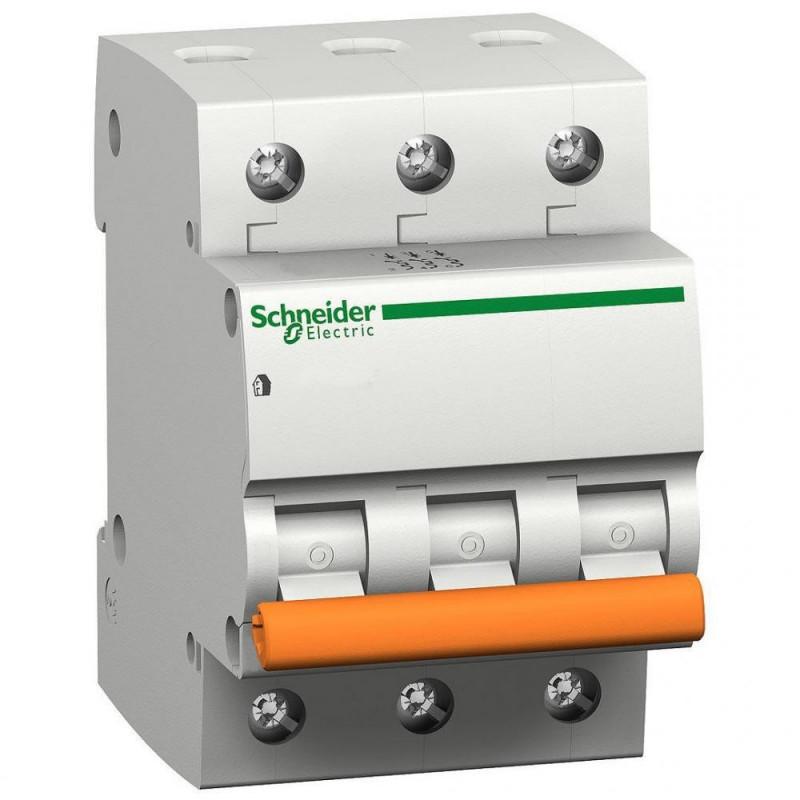 Автоматичний вимикач ВА63 3P 6А С