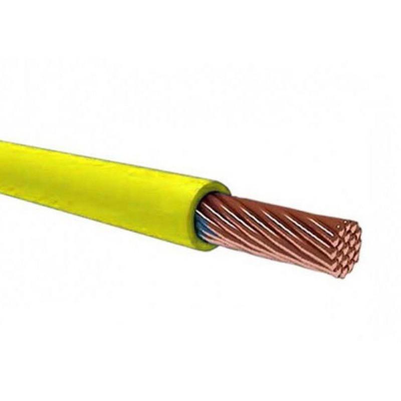 Провід ЗЗКМ ПВ3 1,5 жовтий