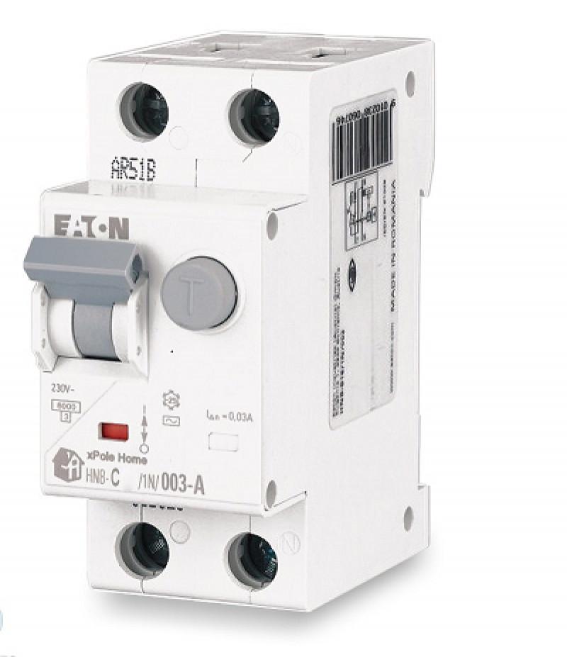 Диф. автомат EATON HNB-C25/1N/003-A