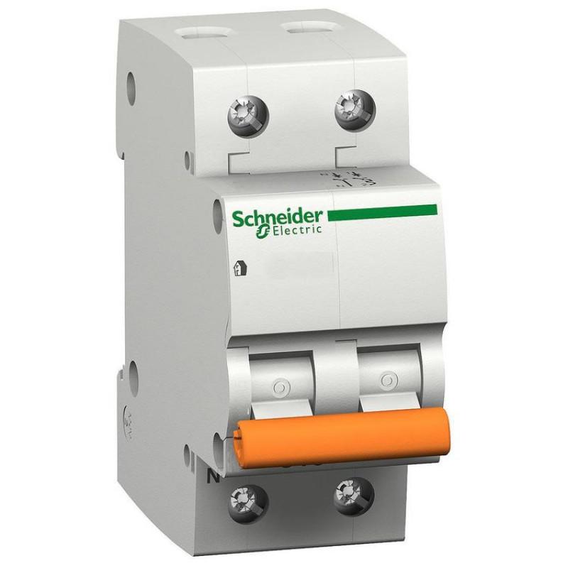 Автоматичний вимикач ВА63 2P 25А С