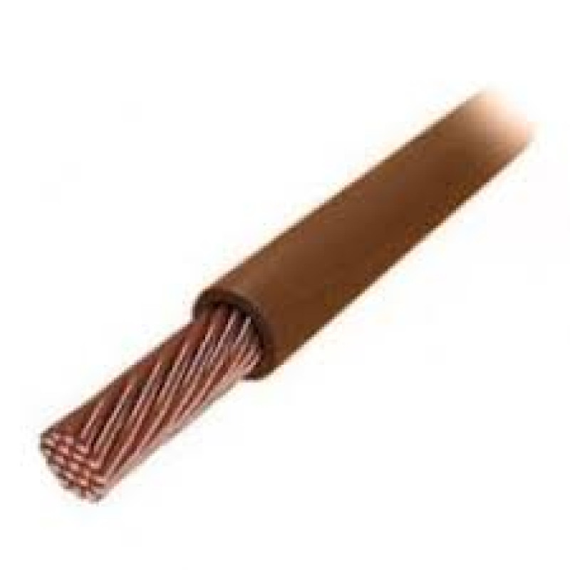 Провід ЗЗКМ ПВ3 4 коричневий
