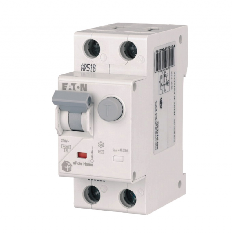 Диф. автомат EATON HNB-C25/1N/004