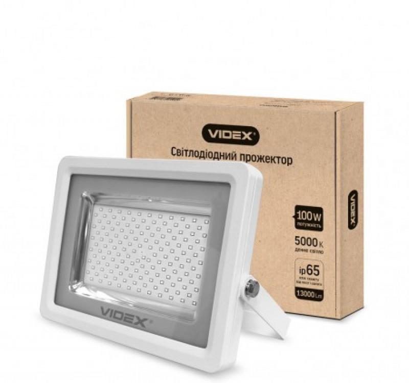 LED Прожектор VIDEX Premium 100W 5000K 220V