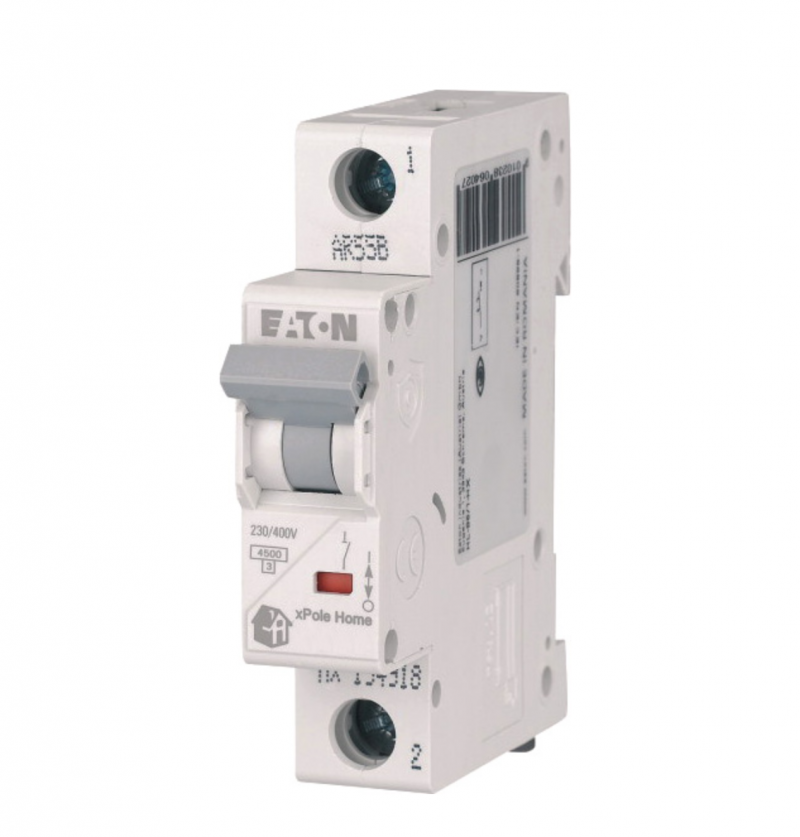 Автоматичний вимикач Eaton HL-C40/1 1P 40А