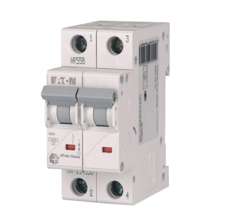 Автоматичний вимикач Eaton HL-C16/2 2P 16А