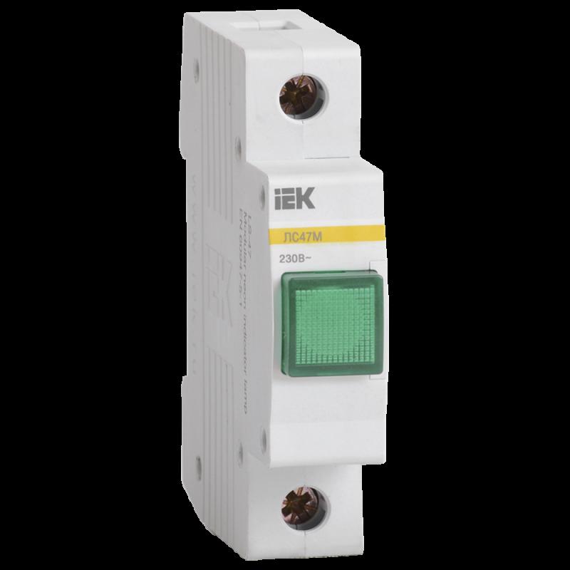 Сигнальна лампа ЛС-47М (зелена) (матриця) IEK
