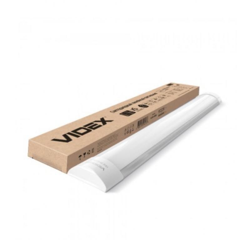 LED світильник лінійний VIDEX 18W 0,6М 5000K 220V