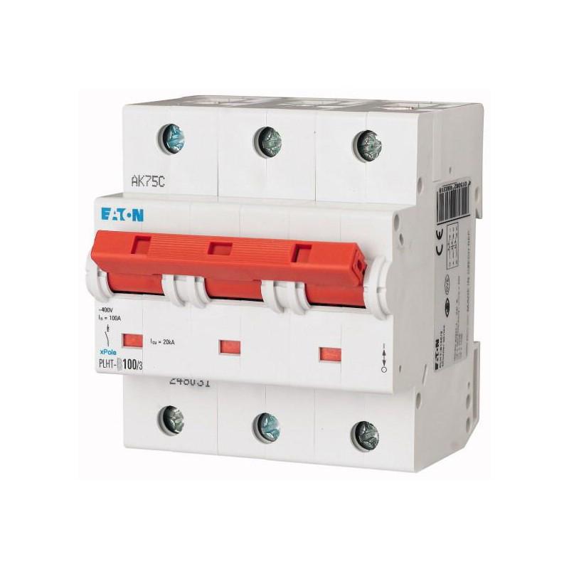 Автоматичний вимикач EATON PLHT-C100/3 3P 100А