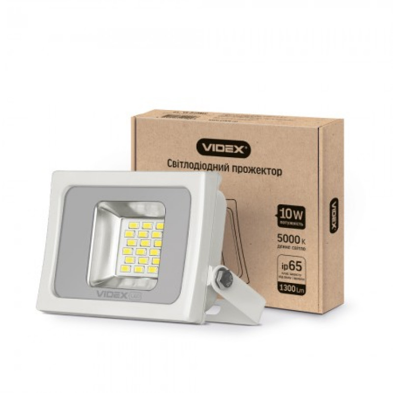 LED Прожектор VIDEX Premium 10W 5000K 220V