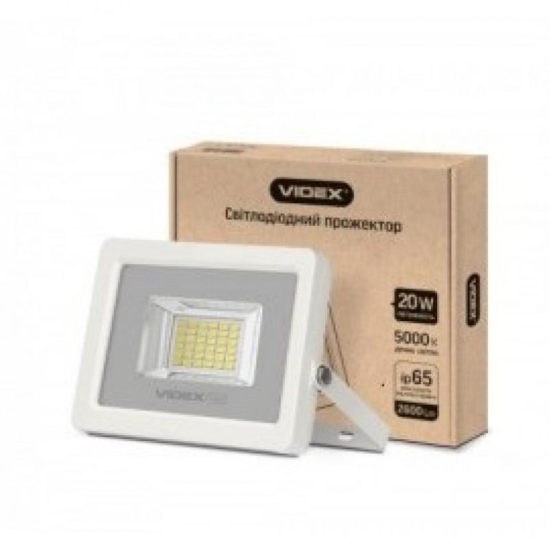 LED Прожектор VIDEX Premium 20W 5000K 220V