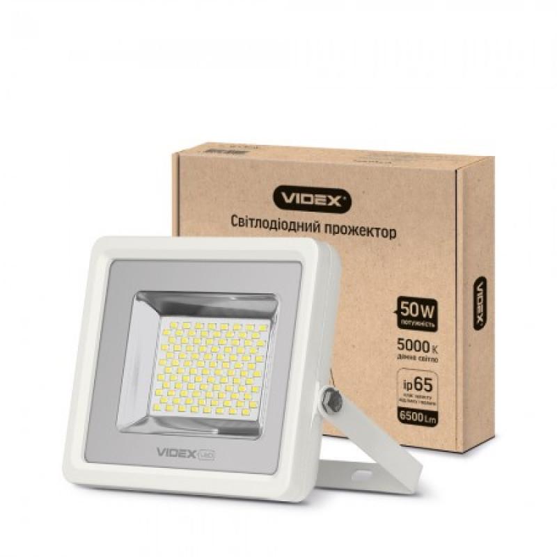 LED Прожектор VIDEX Premium 50W 5000K 220V