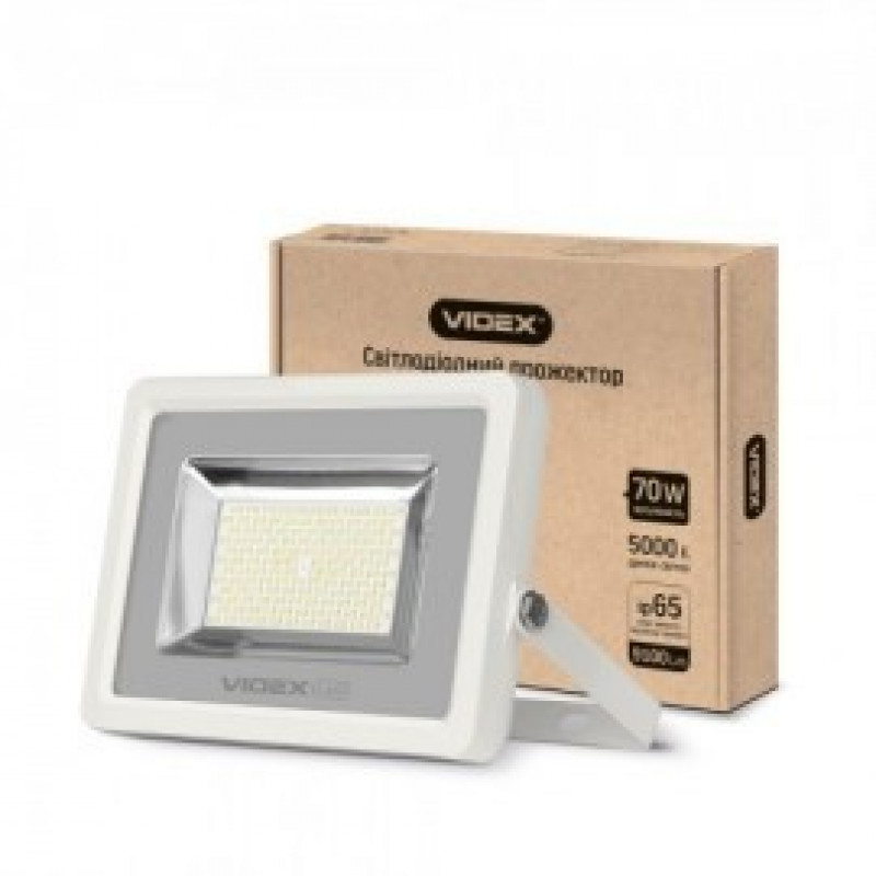LED Прожектор VIDEX Premium 70W 5000K 220V